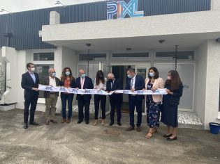 Inauguration agence PIXL